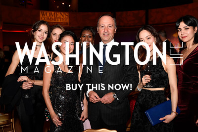 WASHINGTON, DC - FEBRUARY 9: His Excellency the Ambassador of Italy to the United States Armando Varricchio is seen with dancers from the Washington Ballet at the D'Vine Affair at the Embassy of Italy on February 9, 2018 in Washington, DC.  (Photo by Larry French/Washington Life Magazine)