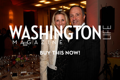 WASHINGTON, DC - FEBRUARY 9: Carrie Marriott and His Excellency the Ambassador of Italy to the United States Armando Varricchio attend the D'Vine Affair at the Embassy of Italy on February 9, 2018 in Washington, DC.  (Photo by Larry French/Washington Life Magazine)