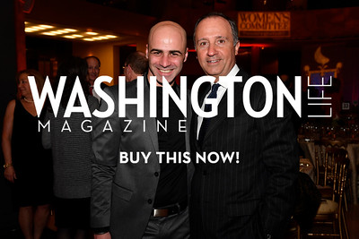 WASHINGTON, DC - FEBRUARY 9:  Mimmo Miccolis and His Excellency the Ambassador of Italy to the United States Armando Varricchio attend the D'Vine Affair at the Embassy of Italy on February 9, 2018 in Washington, DC.  (Photo by Larry French/Washington Life Magazine)