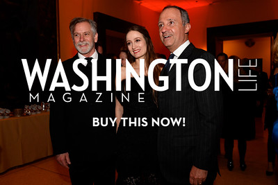 WASHINGTON, DC - FEBRUARY 9:  (L-R) Victor Barbee, Julie Kent, artistic director of the Washington Ballet  and His Excellency the Ambassador of Italy to the United States Armando Varricchio attend the D'Vine Affair at the Embassy of Italy on February 9, 2018 in Washington, DC.  (Photo by Larry French/Washington Life Magazine)