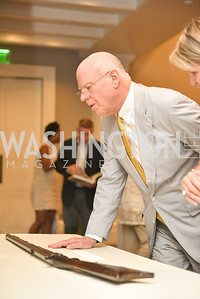 Knight Kiplinger,  The White House Historical Association host the 200th Anniversary of the Historic Decatur House, and launch of the book, The Stephen Decatur House: A History.  August 1, 2018.  Photo by Ben Droz.