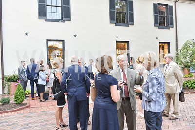 Osborne Mackey,  The White House Historical Association host the 200th Anniversary of the Historic Decatur House, and launch of the book, The Stephen Decatur House: A History.  August 1, 2018.  Photo by Ben Droz.