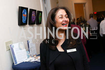 """Nuchhi Currier. Photo by Tony Powell. Donna Brazile """"Hack's"""" Book Party. WNDC"""