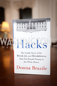 """Photo by Tony Powell. Donna Brazile """"Hack's"""" Book Party. WNDC"""