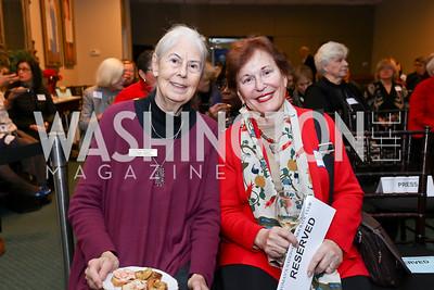 "Carol Rogers, Naomi Naierman. Photo by Tony Powell. Donna Brazile ""Hack's"" Book Party. WNDC"
