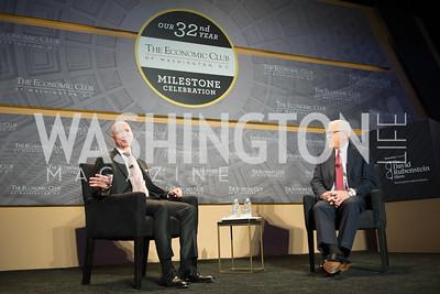Jeff Bezos Speaks, at Economic Club of Washington, DC 32nd Milestone Celebration, on The David Rubenstein Show.  September 13, 2018, photo by Ben Droz.