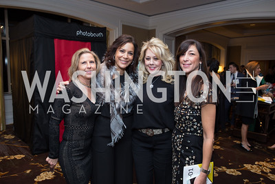 Susan Medve, Elaine Koch, Meg Anderson, Maria Ferris - Fearless Women Awards Ritz Carlton Tysons Corner January 21, 2018 Photo by Naku Mayo