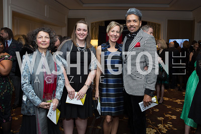 Elizabeth Freire, Alicia Belleville, Paula Checkosky, Dunbar Stewart - Fearless Women Awards Ritz Carlton Tysons Corner January 21, 2018 Photo by Naku Mayo