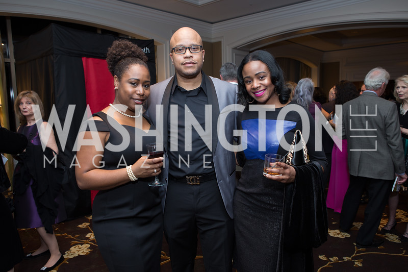 Palma and George Murray, Darianne Noel - Fearless Women Awards Ritz Carlton Tysons Corner January 21, 2018 Photo by Naku Mayo