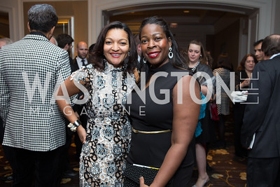 Felis Andrade, Billye Pounds - Fearless Women Awards Ritz Carlton Tysons Corner January 21, 2018 Photo by Naku Mayo