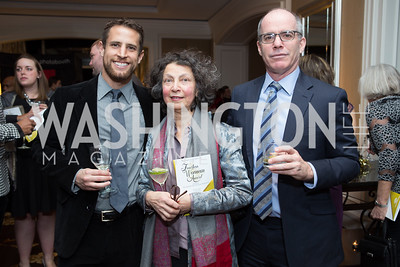 James Hawthon, Elizabeth Freire, Steve Graubeart - Fearless Women Awards Ritz Carlton Tysons Corner January 21, 2018 Photo by Naku Mayo