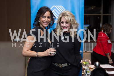 Elaine Koch, Meg Anderson - Fearless Women Awards Ritz Carlton Tysons Corner January 21, 2018 Photo by Naku Mayo