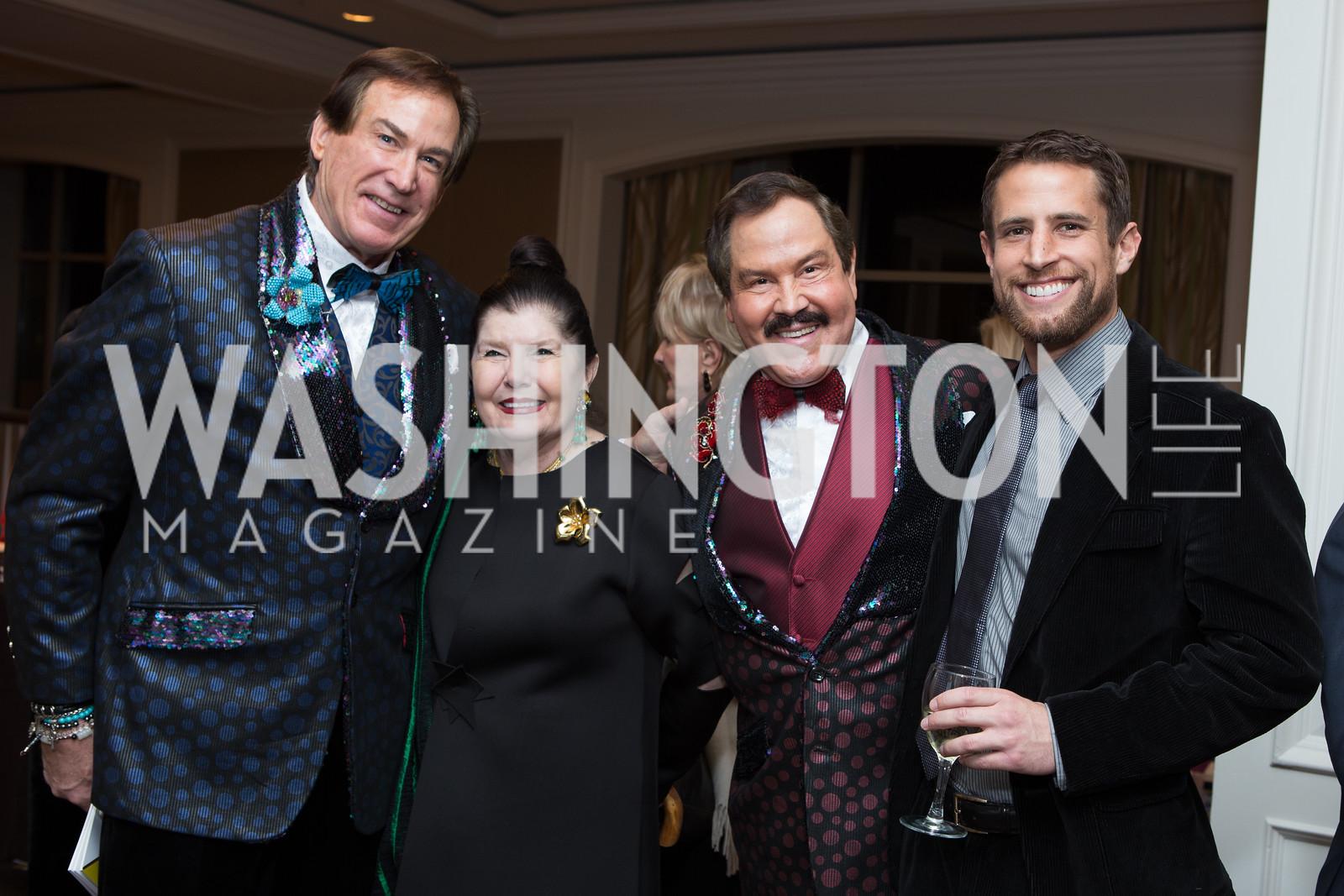 Tom Noll, Judith Terra, Alberto Ucles, James Hawthorn - Fearless Women Awards Ritz Carlton Tysons Corner January 21, 2018 Photo by Naku Mayo