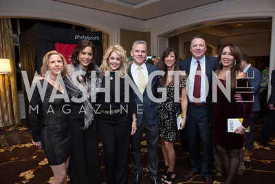Susan Medve, Elaine Kock, Meg Anderson, Phil Lazas, Maria Ferris, Emory Linder, Monica Costinett - Fearless Women Awards Ritz Carlton Tysons Corner January 21, 2018 Photo by Naku Mayo