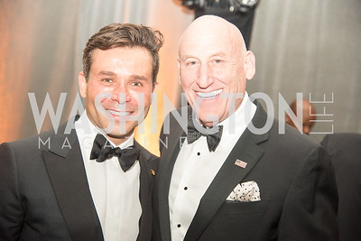 Antonio Alves, Donald Hoffman, Harvard Business School, Leadership Gala, DC, The Four Seasons, June 13, 2018.  Photo by Ben Droz.