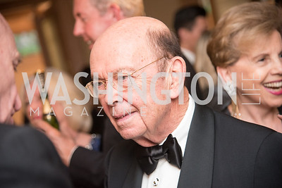 Secretary Wilbur Ross,  Harvard Business School, Leadership Gala, DC, The Four Seasons, June 13, 2018.  Photo by Ben Droz.