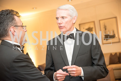 Senator Rob Portman, Harvard Business School, Leadership Gala, DC, The Four Seasons, June 13, 2018.  Photo by Ben Droz.