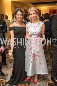 Diana Mata, Lene Mandel Vensild,  Harvard Business School, Leadership Gala, DC, The Four Seasons, June 13, 2018.  Photo by Ben Droz.