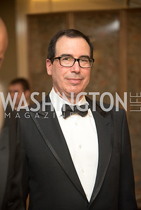 Secretary Steven Mnuchin, Harvard Business School, Leadership Gala, DC, The Four Seasons, June 13, 2018.  Photo by Ben Droz.