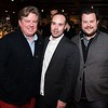 Marc Ross, Kyle Downey and Brendan Kownacki attend the Hill Impact event at the Hamilton on January 11, 2018.<br /> <br /> Photography by Joy Asico