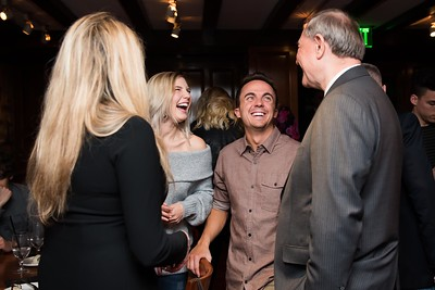 Paige Price and Frankie Muniz attend the Hill Impact event at the Hamilton on January 11, 2018.  Photography by Joy Asico