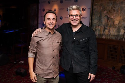Frankie Muniz and Dan hill attend the Hill Impact event at the Hamilton on January 11, 2018.  Photography by Joy Asico