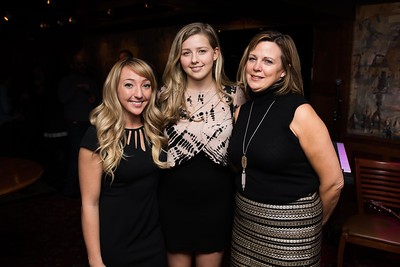 Delaney Henderson, Chessy Prout and Susan Prout attend the Hill Impact event at the Hamilton on January 11, 2018.  Photography by Joy Asico