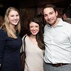 Kate Bannen, Devin Sears and Aaron Williams attend the Hill Impact event at the Hamilton on January 11, 2018.<br /> <br /> Photography by Joy Asico