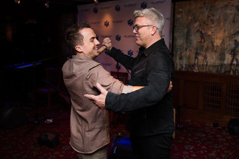 Frankie Muniz and Dan Hill perform the Waltz at the Hill Impact event at the Hamilton on January 11, 2018.  Photography by Joy Asico