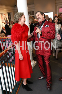 Maureen Mayer, Jose Alberto Ucles. Photo by Tony Powell. Hillwood Romance Around the Table. February 14, 2018