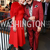 Maureen Mayer, Jose Alberto Ucles. Photo by Tony Powell. Hillwood Romance Around the Table. February 14, 2018