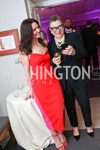 Melanie Hansen, Madeline Mitchell. Photo by Tony Powell. Hillwood Romance Around the Table. February 14, 2018