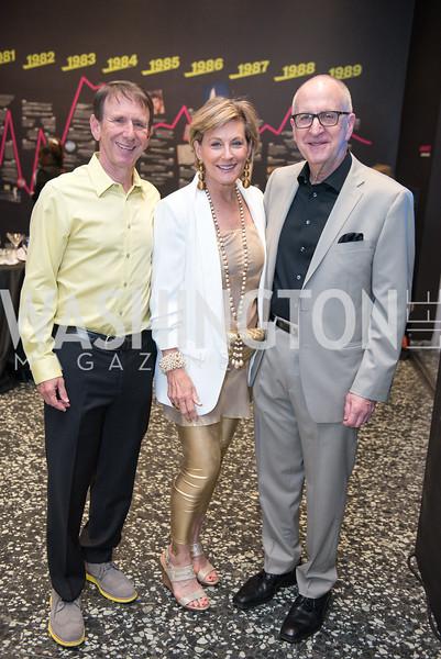Neil Cohen, Marcy Cohen, David Skorton, Hirshhorn Spring Gala, Jeff Koons and Jennifer Rubell, May 12, 2018, photo by Ben Droz.