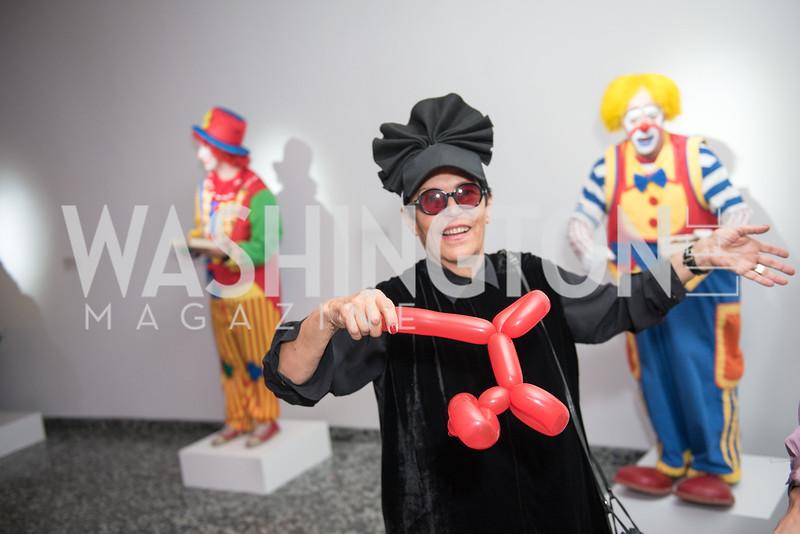Mera Rubell,  Hirshhorn Spring Gala, Jeff Koons and Jennifer Rubell, May 12, 2018, photo by Ben Droz.