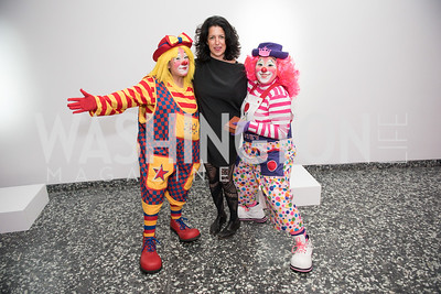 Jennifer Rubell,  Hirshhorn Spring Gala, Jeff Koons and Jennifer Rubell, May 12, 2018, photo by Ben Droz.