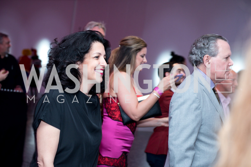 Jennifer Rubell, Hirshhorn Spring Gala, Jeff Koons and Jennifer Rubell, May 12, 2018, photo by Ben Droz.