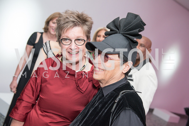 Dorothy Kosinski, Mera Rubell, Hirshhorn Spring Gala, Jeff Koons and Jennifer Rubell, May 12, 2018, photo by Ben Droz.