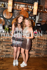 Jen Millard, Chloe Kaplan, Hope for Henry, 15th Anniversary Extravaganza, ' Sparkles and Sneakers', City Winery in Ivy City. October 20, 2018, photo by Ben Droz.
