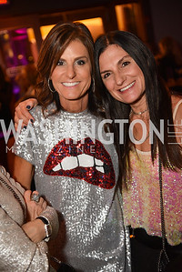 Tracy Gorman, Robin Bogin, Hope for Henry, 15th Anniversary Extravaganza, ' Sparkles and Sneakers', City Winery in Ivy City. October 20, 2018, photo by Ben Droz.
