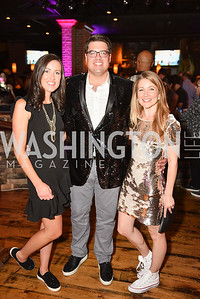 Kelly Deal, Adam Deal, Melanie Cherner, Hope for Henry, 15th Anniversary Extravaganza, ' Sparkles and Sneakers', City Winery in Ivy City. October 20, 2018, photo by Ben Droz.
