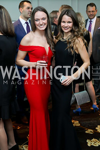 Dayna Quigley, Sarah Rhea. Photo by Tony Powell. Inaugural Spinal Research Foundation Gala. Ritz Tysons. November 3, 2018