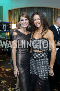 Jennifer deCamp, Annie Norman. Photo by Tony Powell. Inaugural Spinal Research Foundation Gala. Ritz Tysons. November 3, 2018