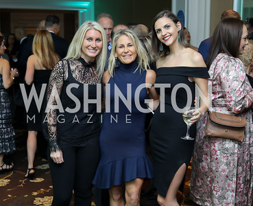 Ashleigh Tafakor, Tiffany Subach, Lauren Waskiewicz. Photo by Tony Powell. Inaugural Spinal Research Foundation Gala. Ritz Tysons. November 3, 2018