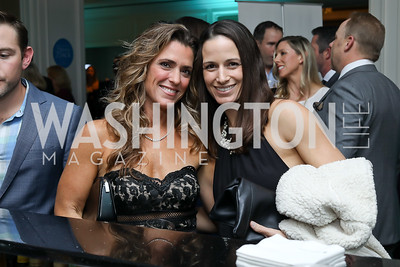 Jessica Stein, Kristin Campbell. Photo by Tony Powell. Inaugural Spinal Research Foundation Gala. Ritz Tysons. November 3, 2018