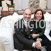 UBS Managing Director Roderick von Lipsey and Alexia von Lipsey. Photo by Tony Powell. The Last Empresses of China Reception. Pillsbury Residence. March 7, 2018