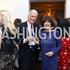 Walter and Didi Cutler. Photo by Tony Powell. The Last Empresses of China Reception. Pillsbury Residence. March 7, 2018