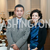 Xu Tong, Elisa Glazer. Photo by Tony Powell. The Last Empresses of China Reception. Pillsbury Residence. March 7, 2018