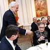 Philippe Auguin, Justice Ruth Bader Ginsburg. Photo by Tony Powell. Philippe Auguin Farewell. Residence of France. March 15, 2018