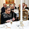 Justice Ruth Bader Ginsburg. Photo by Tony Powell. Philippe Auguin Farewell. Residence of France. March 15, 2018