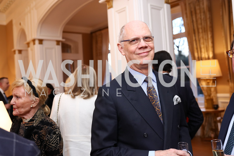 Kevin Chaffee. Photo by Tony Powell. Philippe Auguin Farewell. Residence of France. March 15, 2018